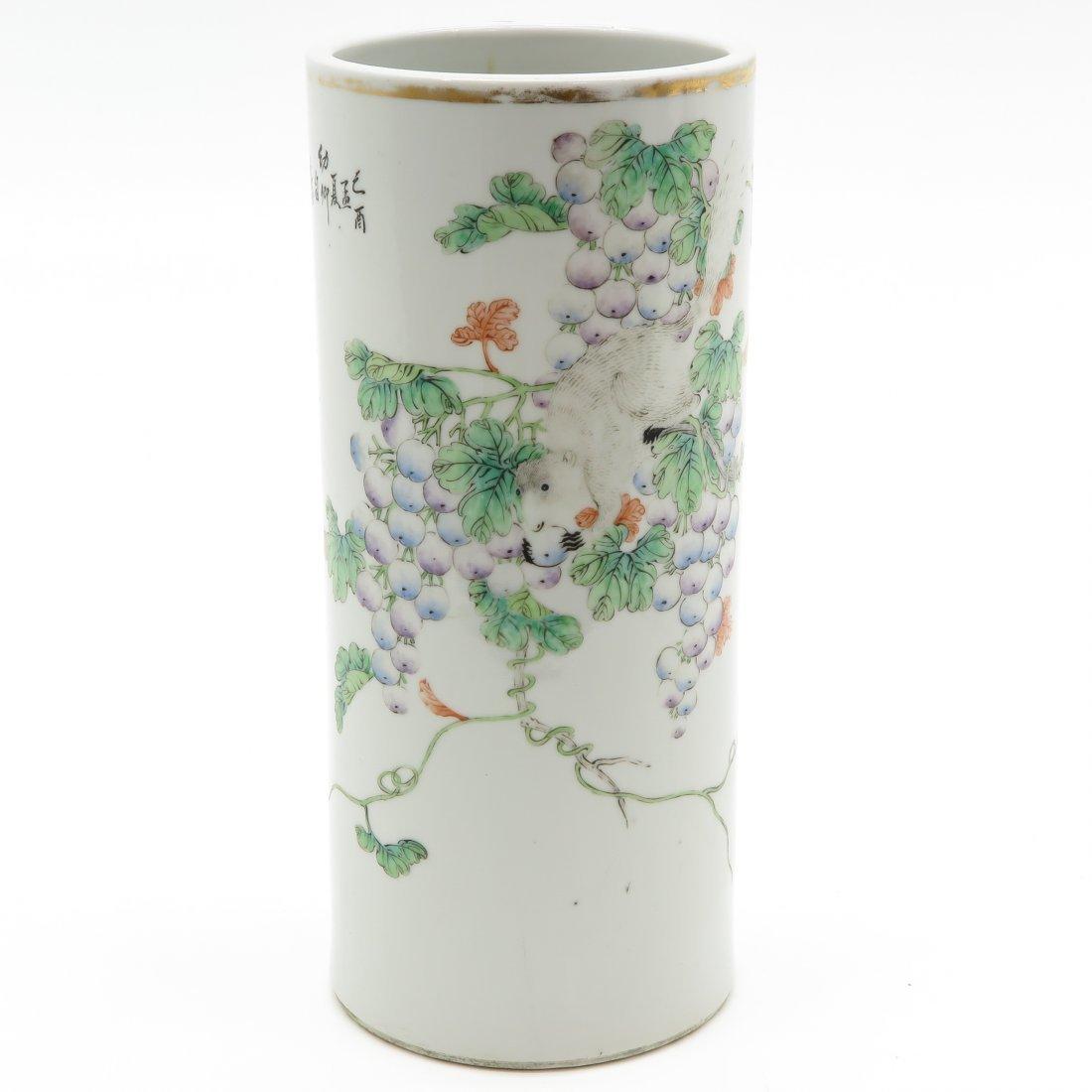 China Porcelain Cylinder Vase