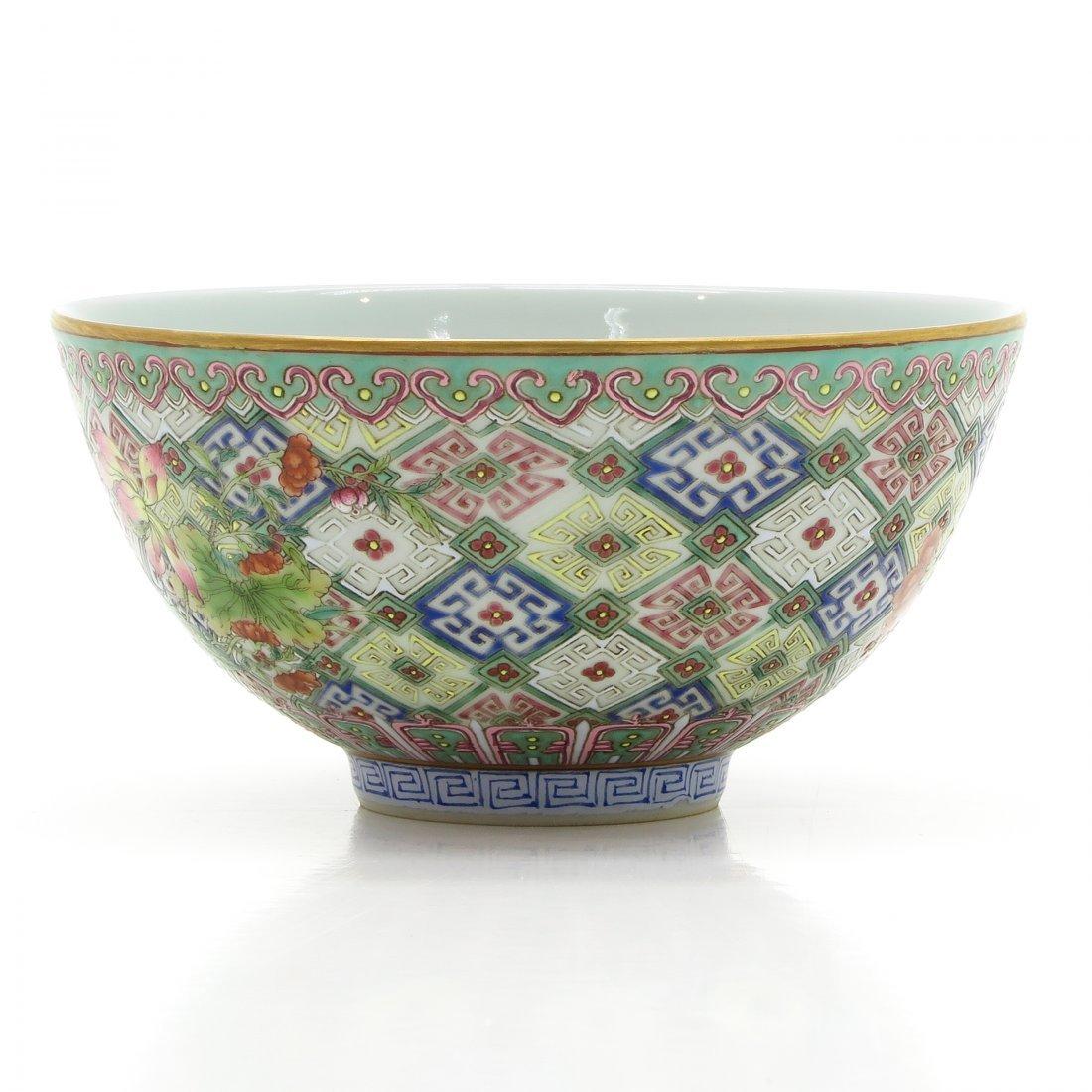 A Fine China Porcelain Daoguang Period Bowl