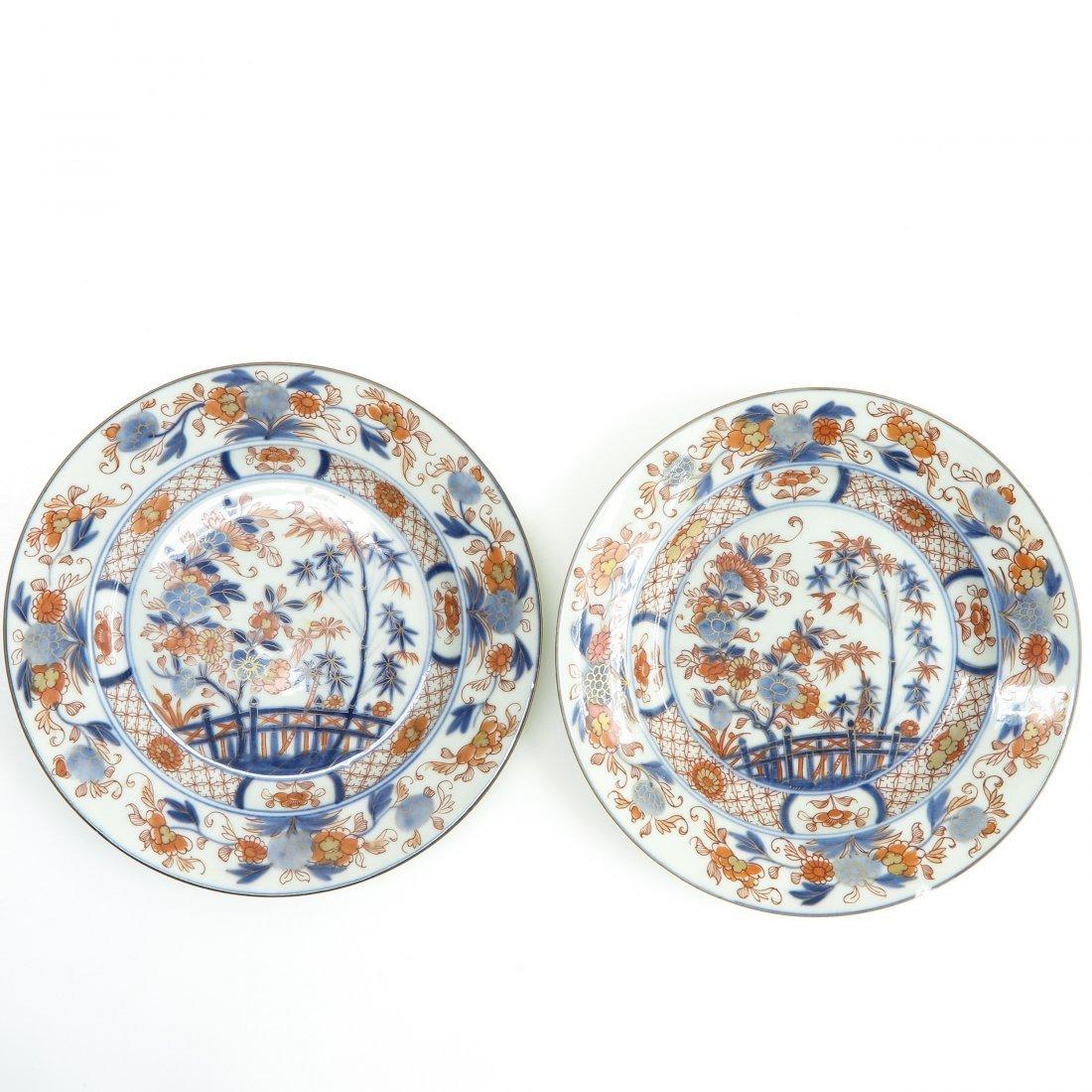 Lot of 18th Century Imari Decor Plates