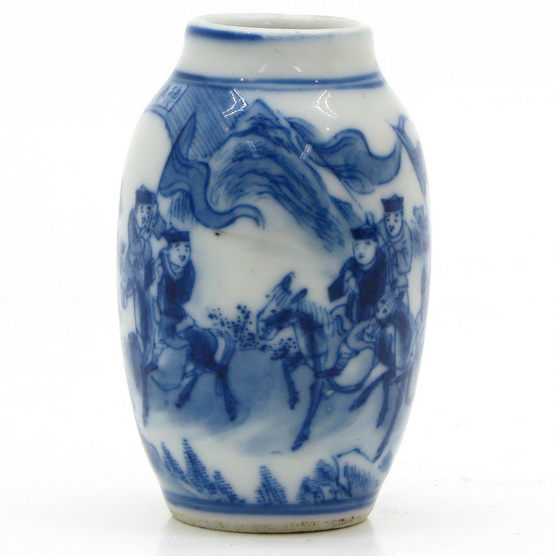 18th Century China Porcelain Miniature Vase