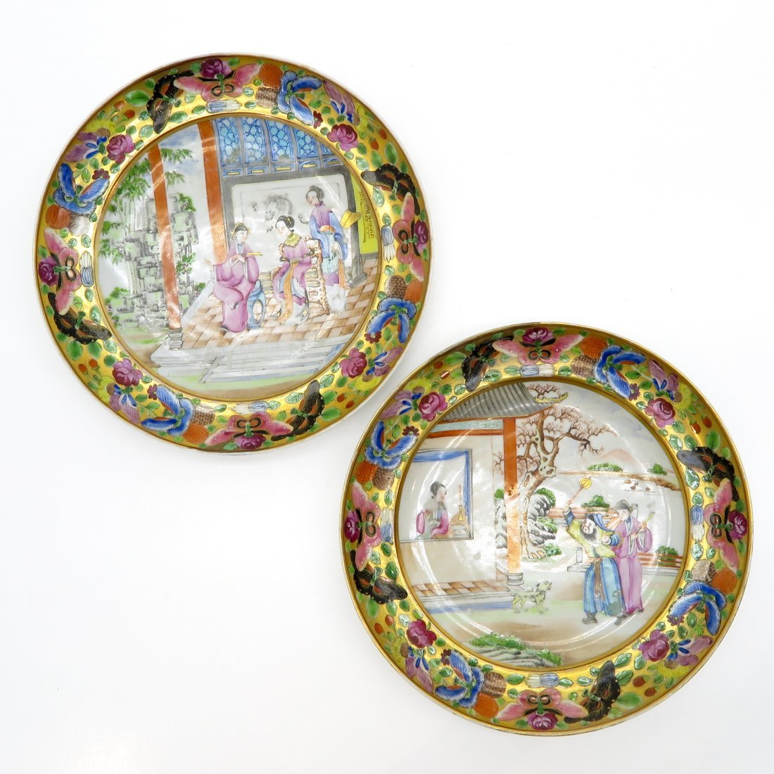 China Porcelain Cantonese Plate
