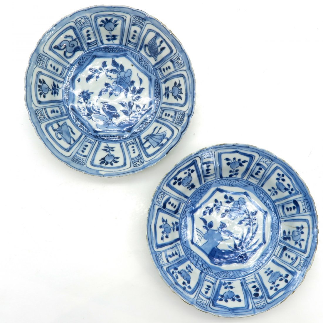Lot of Wanli Period Plates