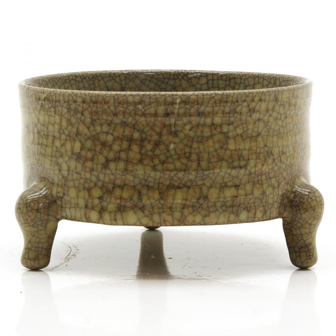 China Porcelain Crackle Ware Decor Censer
