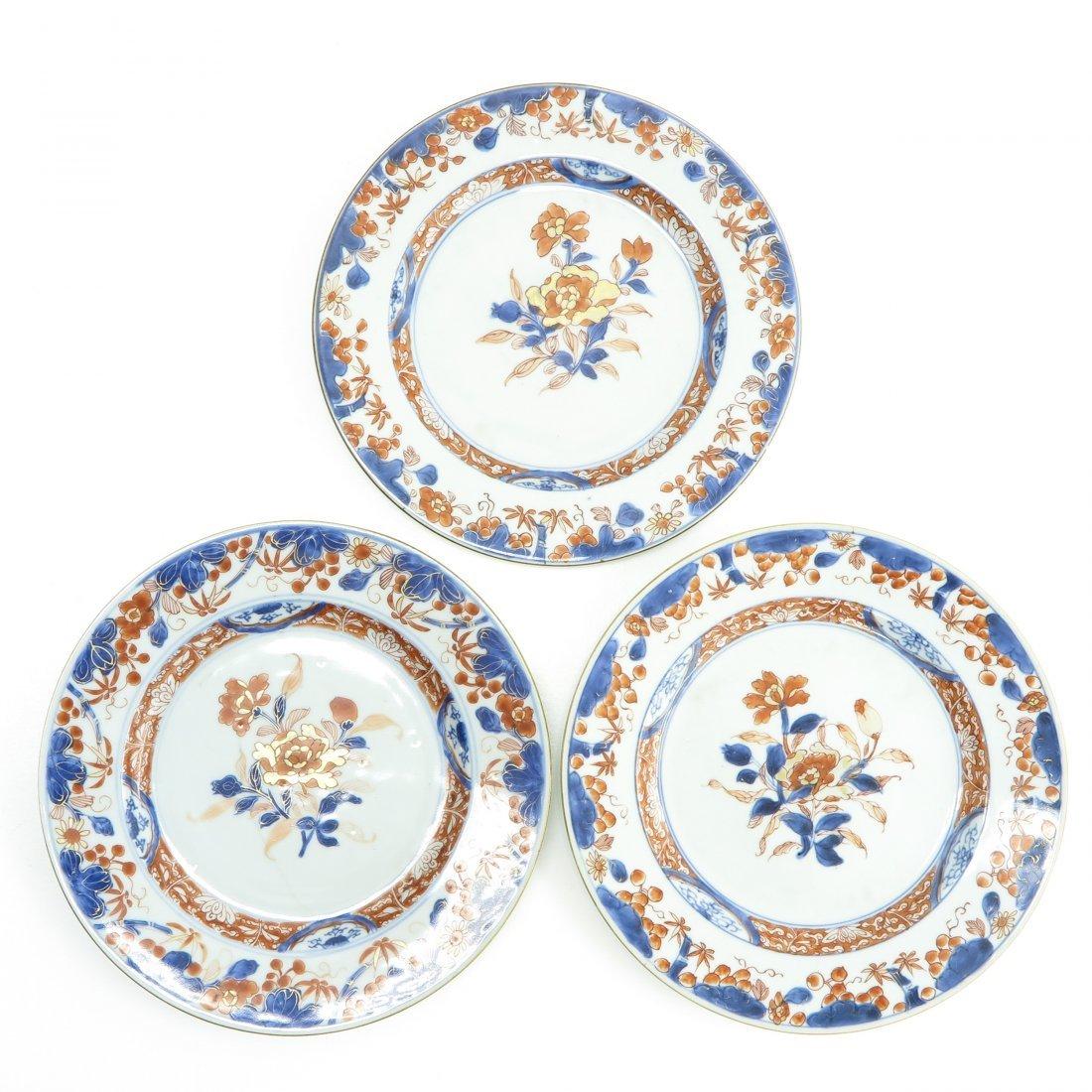 18th Century China Porcelain Imari Decor Plates