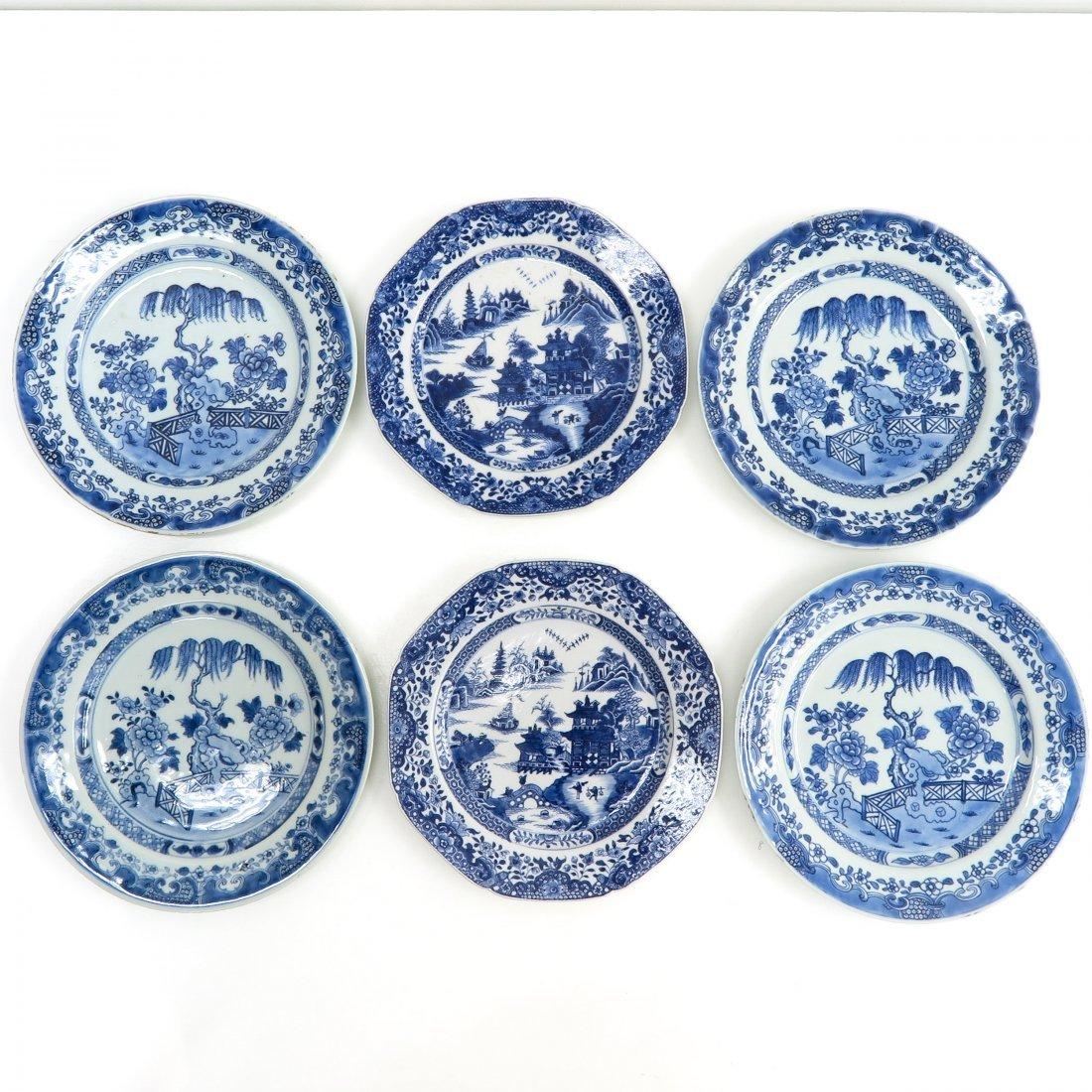 18th Century China Porcelain Plates