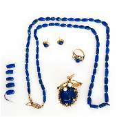 Beautiful Lapis Lazuli Set