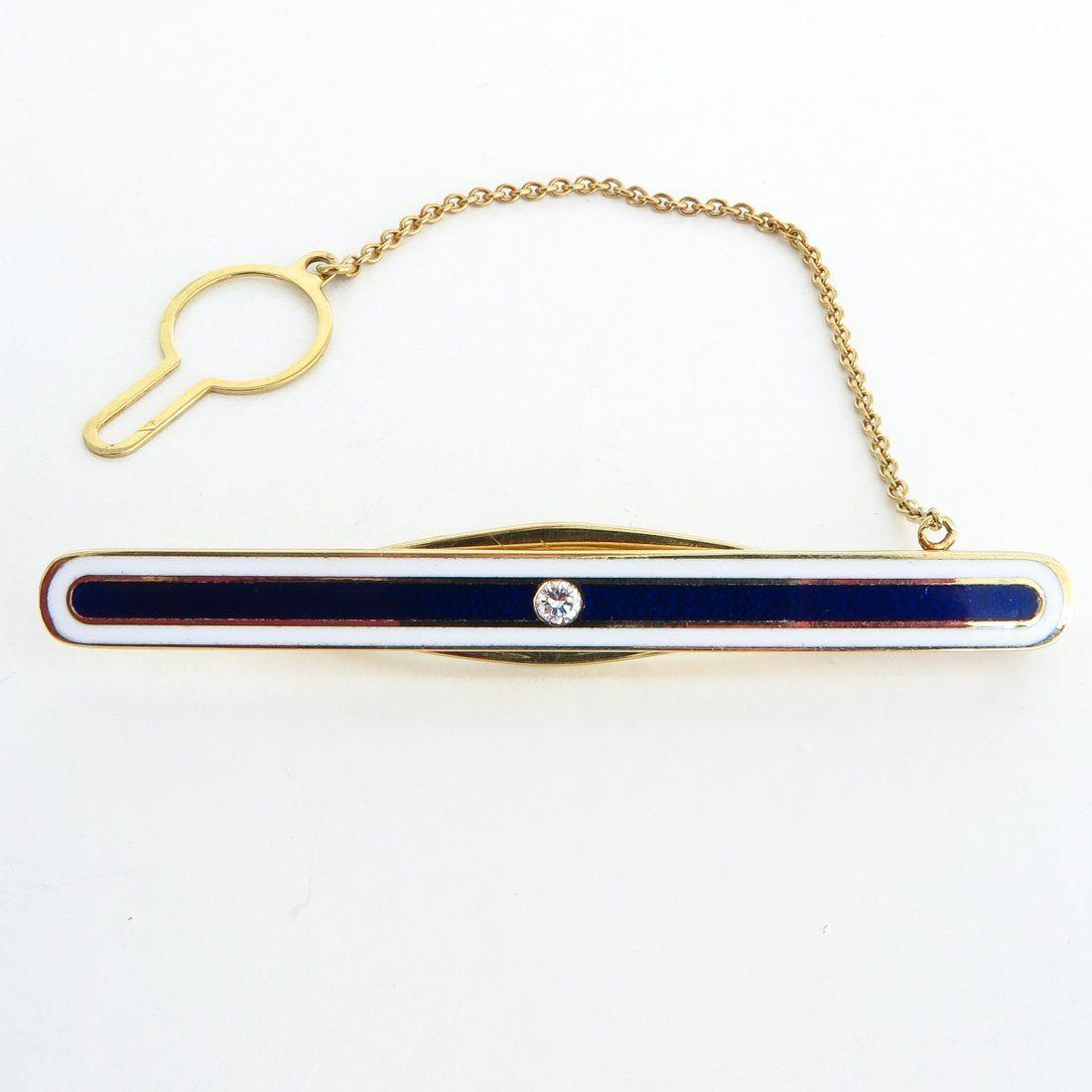 Faberge 18KG Bar Pin