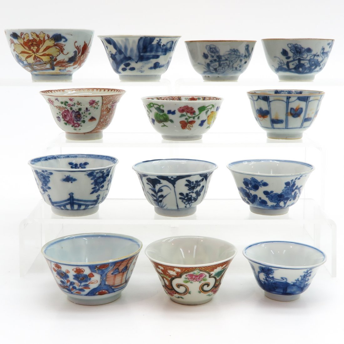 Diverse Lot of China Porcelain Cups