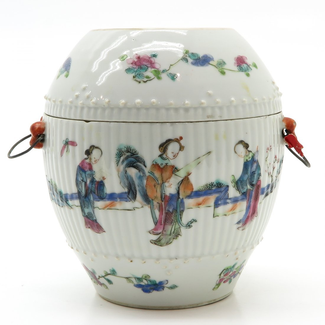 China Porcelain Lidded Jar
