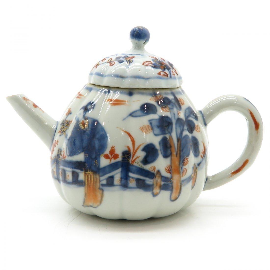 China Porcelain 18th Century Teapot