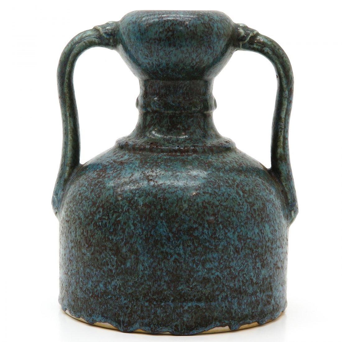 China Porcelain Robin Egg Decor Vase