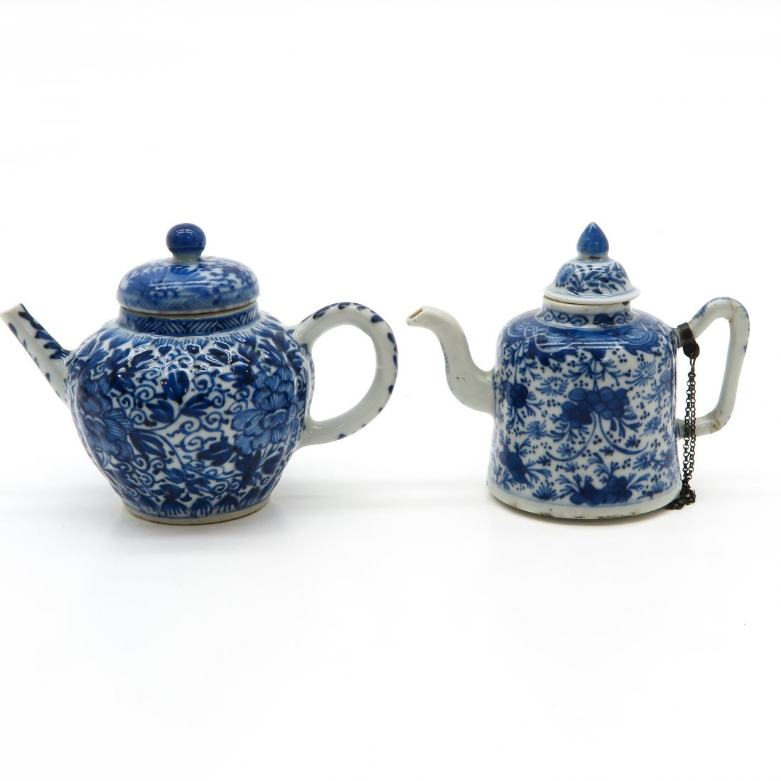 Lot of 2 China Porcelain Teapots