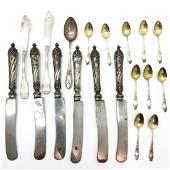 Lot of German Silver Cutlery