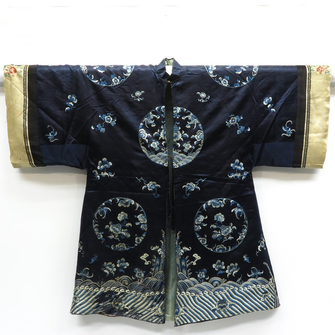 Embroidered Silk Chinese Jacket