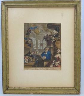 William Hogarth English (1697-1764) Antique Print