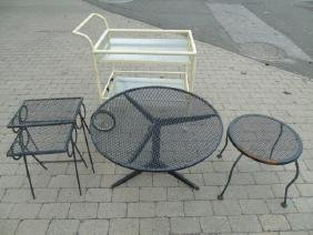 Collection (5) of Outdoor Furniture Pieces