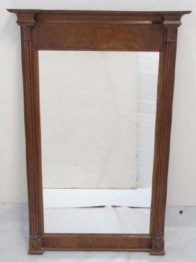 Neo Classical Style Mirror w Column Details