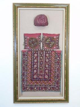 Middle Eastern / Islamic Embroidered Prayer Items