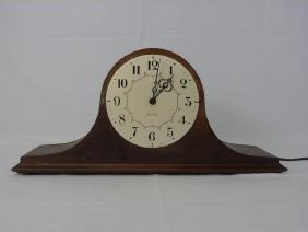 Vintage Seth Thomas Mahogany Mantel Clock