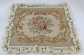 Machine Made Tapestry Style Pillow