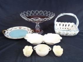 Collection of 7 Glass & Ceramic Pieces