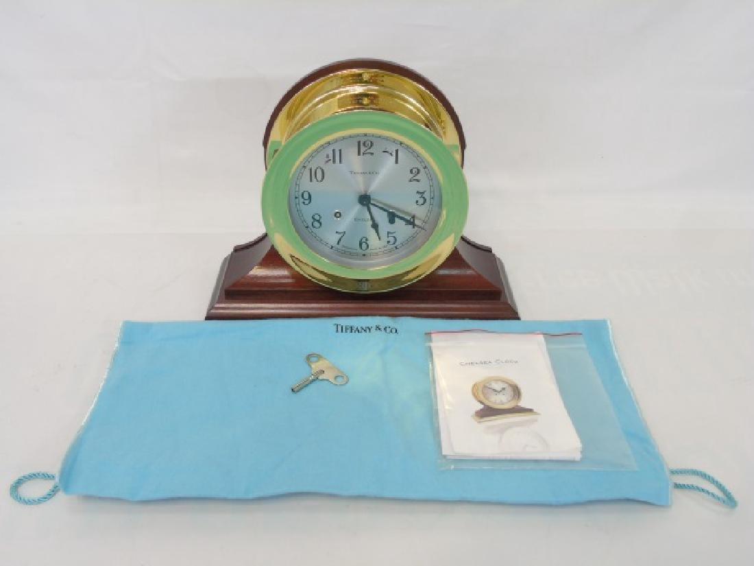Tiffany & Co. Ship's Bell Chelsea Clock