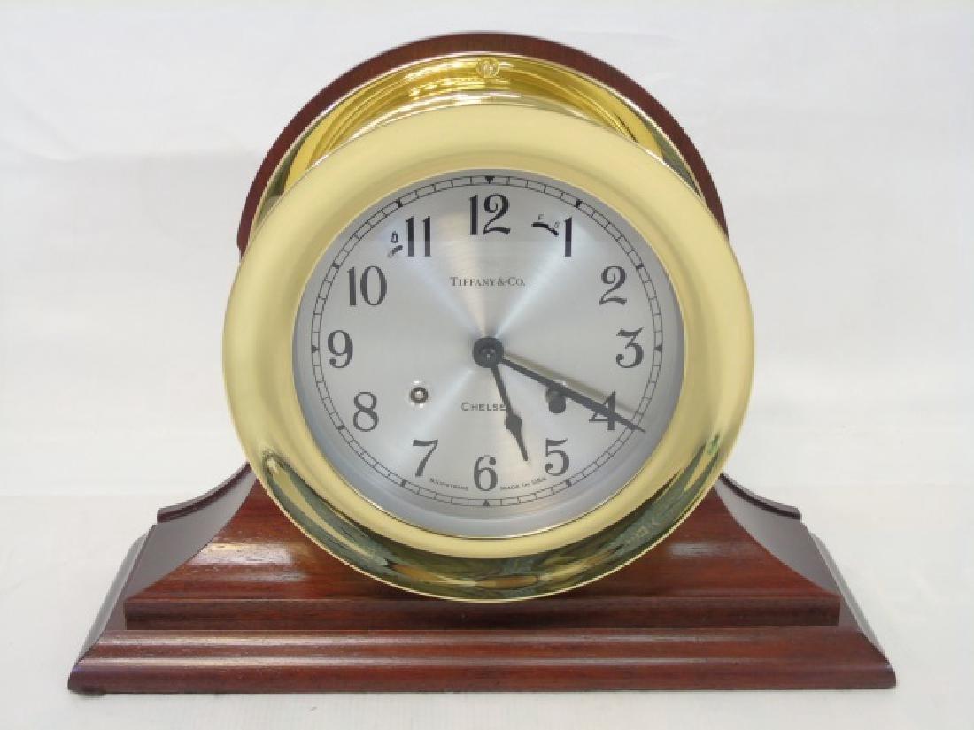 Tiffany & Co. Ship's Bell Chelsea Clock - 4