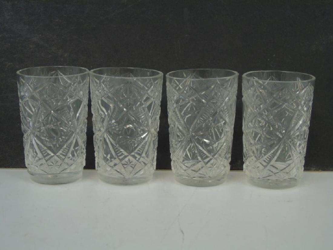 Antique 800 Silver Decanter Bottle & Glass Set - 2