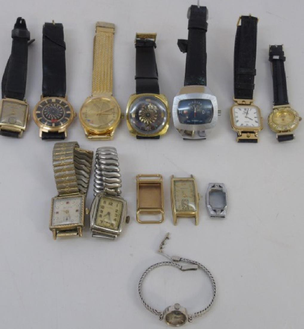 Vintage Watches & Antique Watch Face Group Lot