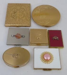 Collection of Vintage Cigarette Cases & Compacts