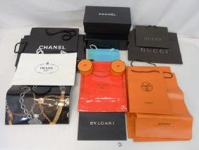 Hermes Prada Gucci Cartier Etc - Bags / Boxes