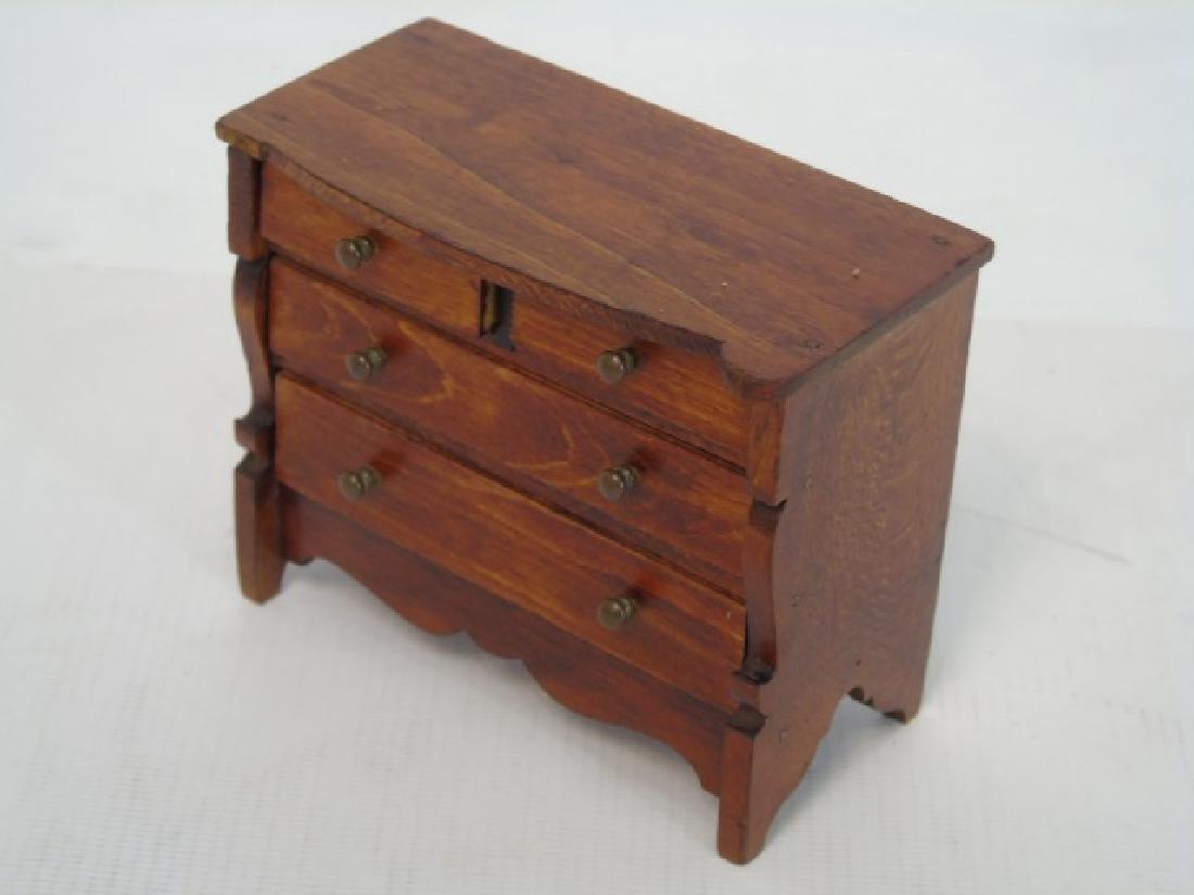 Antique Dollhouse Tynietoy Miniature Furniture - 4