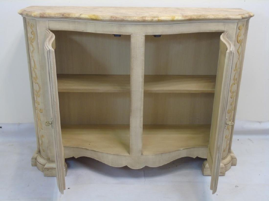 Hand Painted Baker Side Board Console Credenza - 4