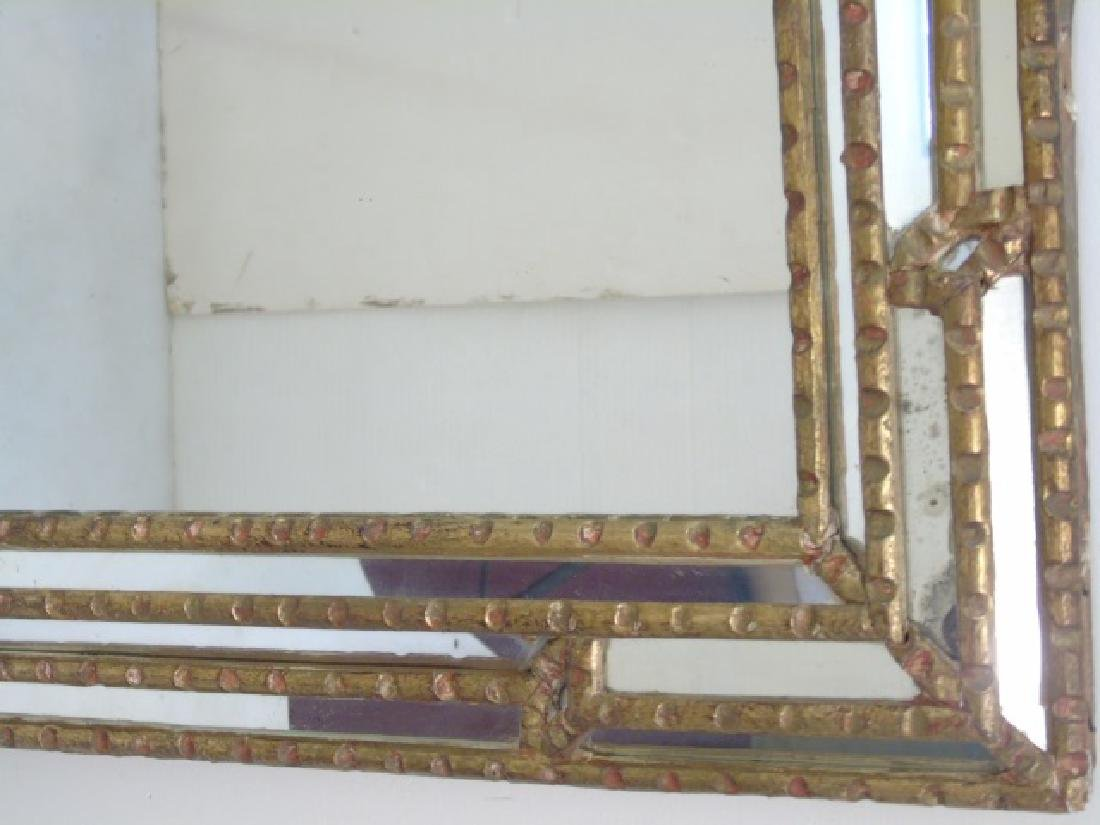 French Style Carved Wood Framed Mirror - 3