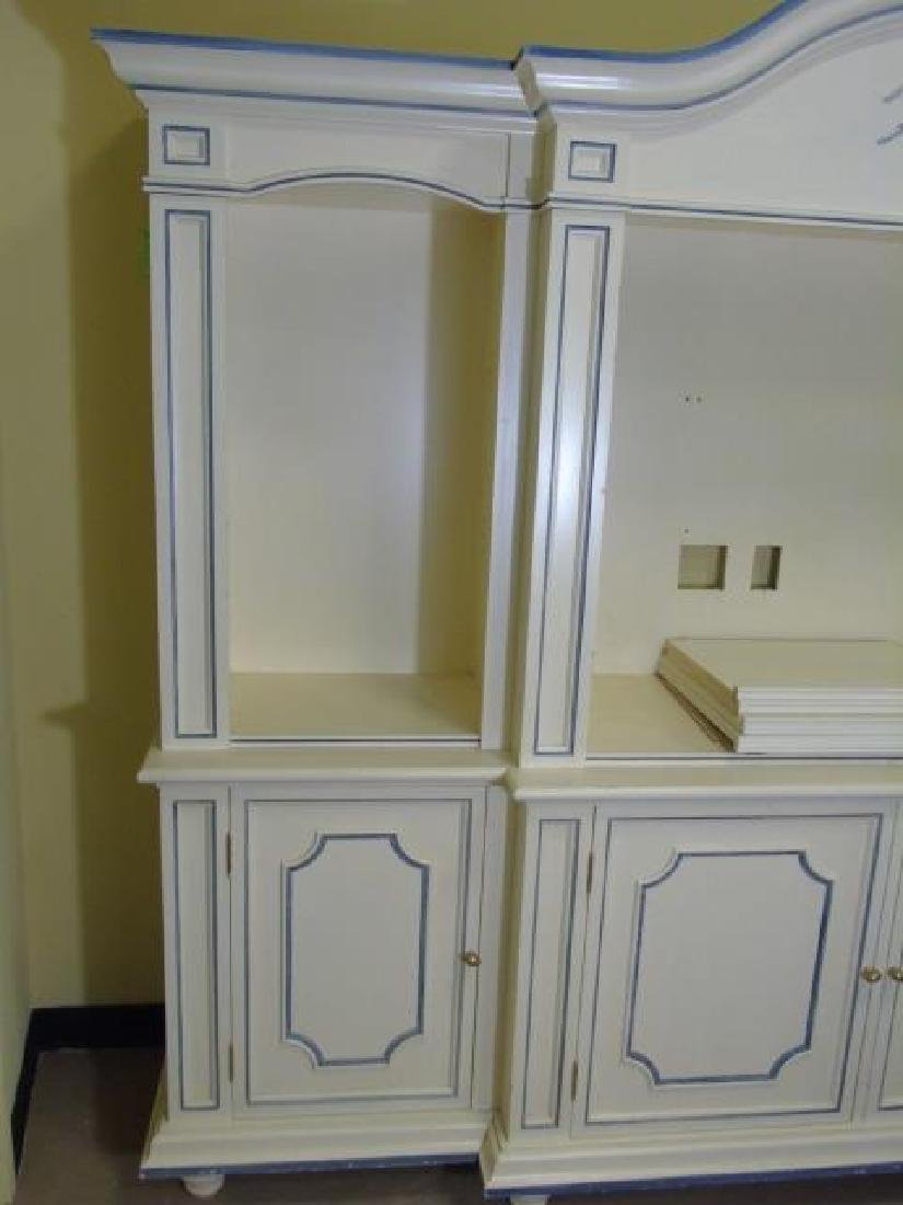 Custom Made Hand Painted Contemporary Bookcase - 3