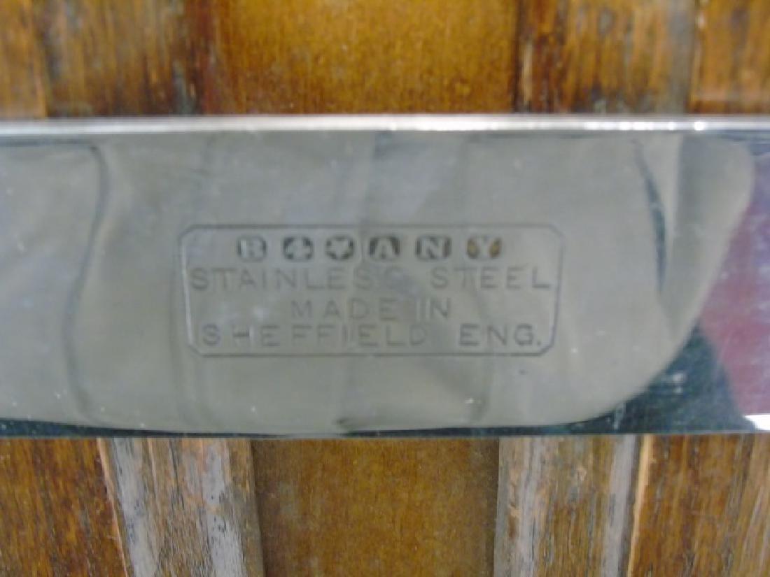 Antique Oak & Metal Watts Upright Trouser Press - 4