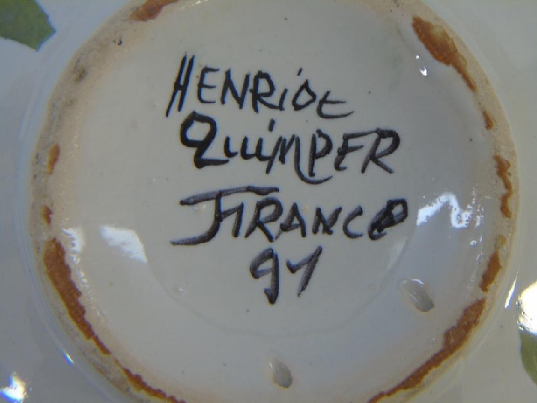 Group of Vintage Quimper Faience Bowls & Plates - 2