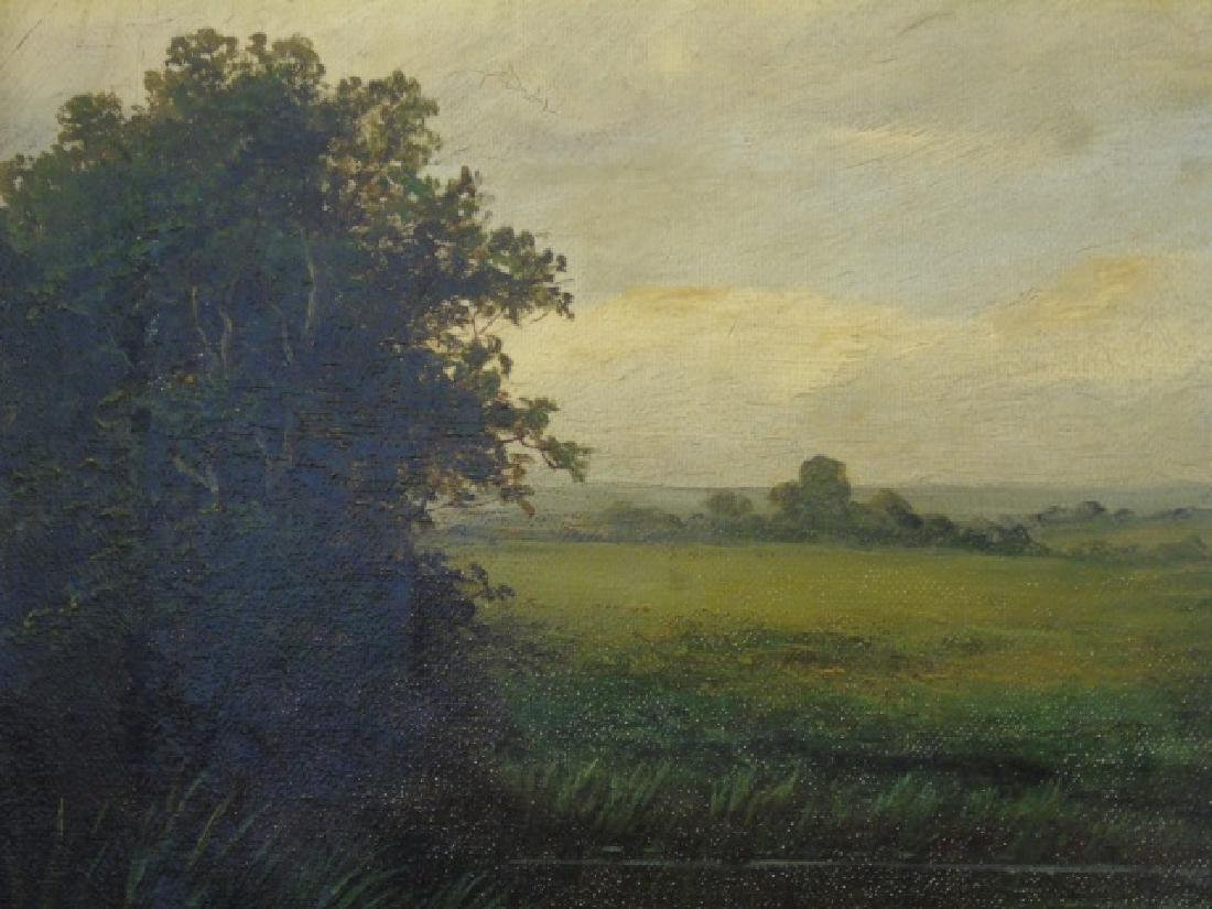 W. P. Cartwright Oil on Canvas Farm in Surrey 1905 - 4