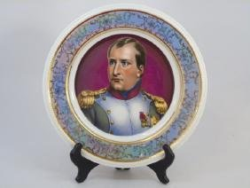 Antique B & Co Limoges Porcelain Napoleon Plate