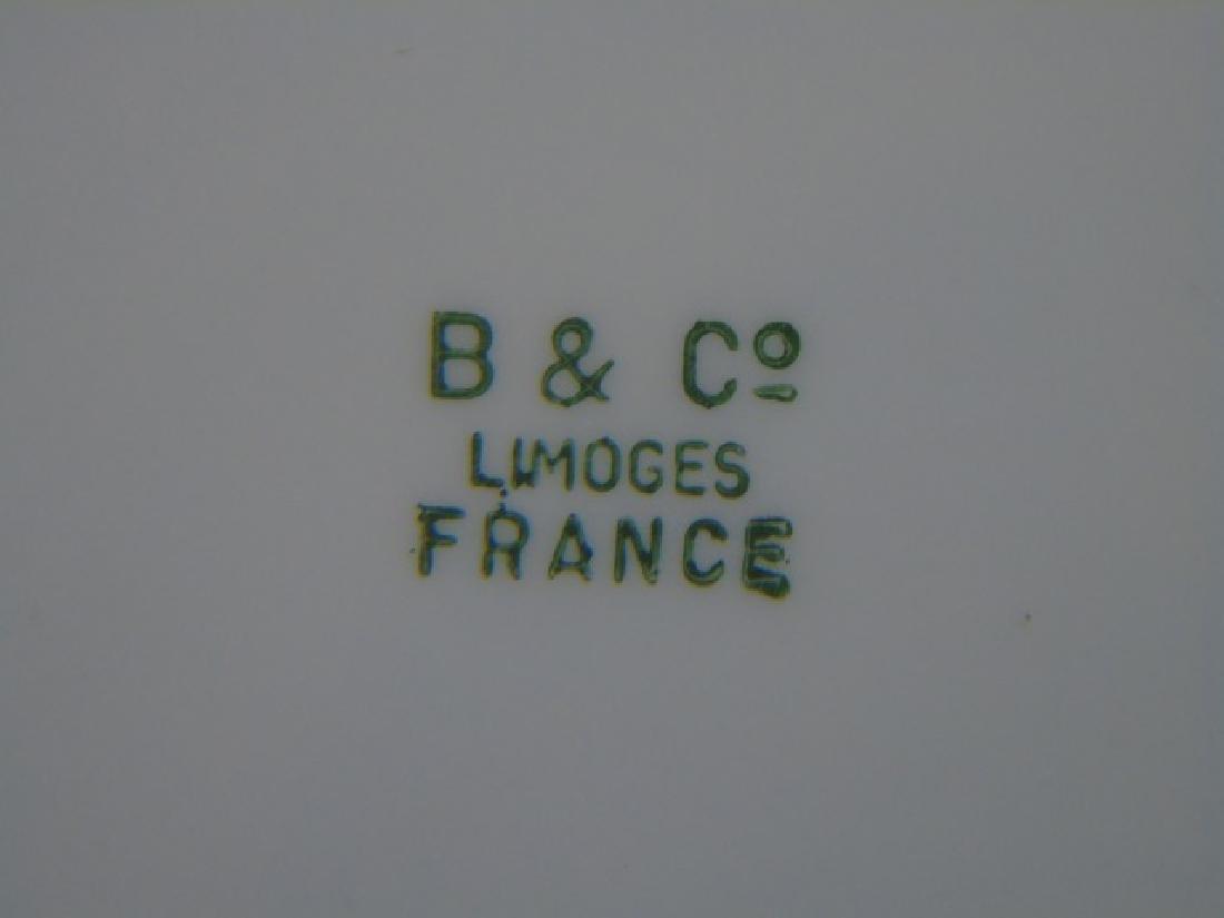 Antique B & Co Limoges Porcelain Napoleon Plate - 2