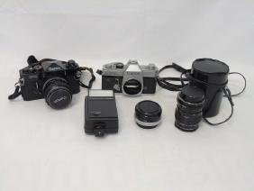 Collection of Canon Cameras, Lens &  Accessories