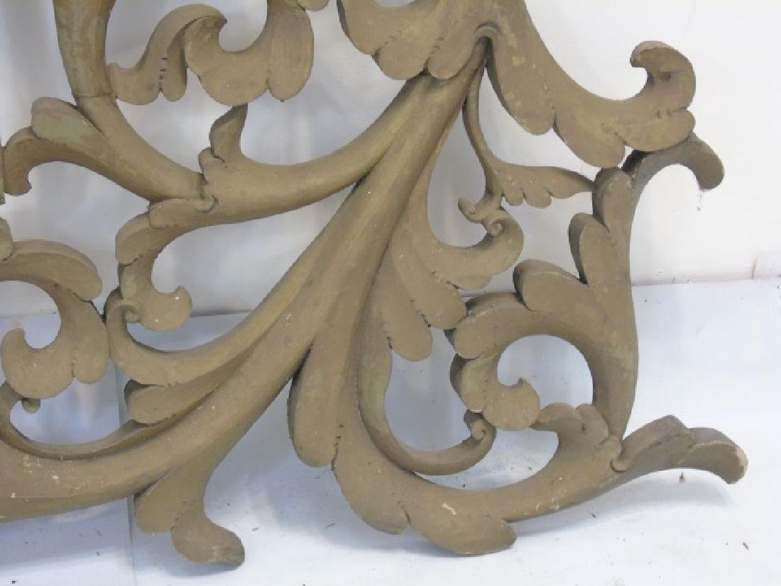 Antique Wooden Architectural Decorative Fragment - 2