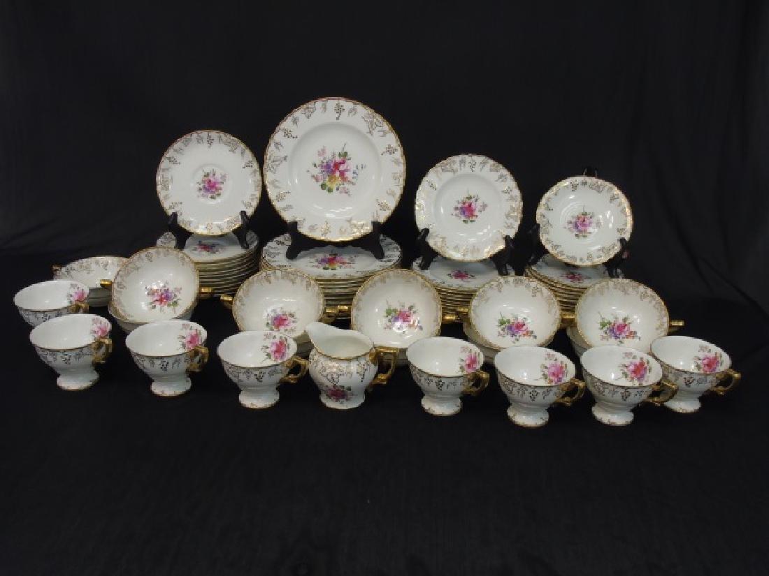 "Partial Dessert Set of Royal Crown Derby ""Vine"""