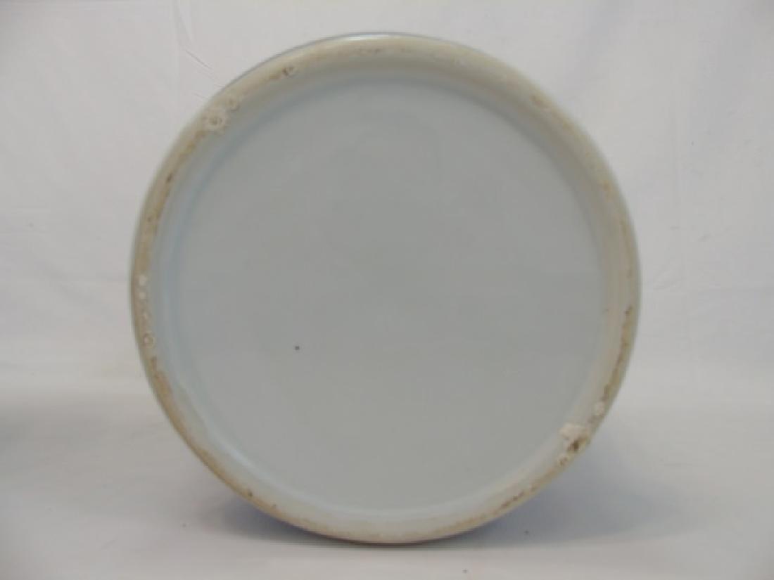 Pair Extra Large Chinese Blue & White Ginger Jars - 2