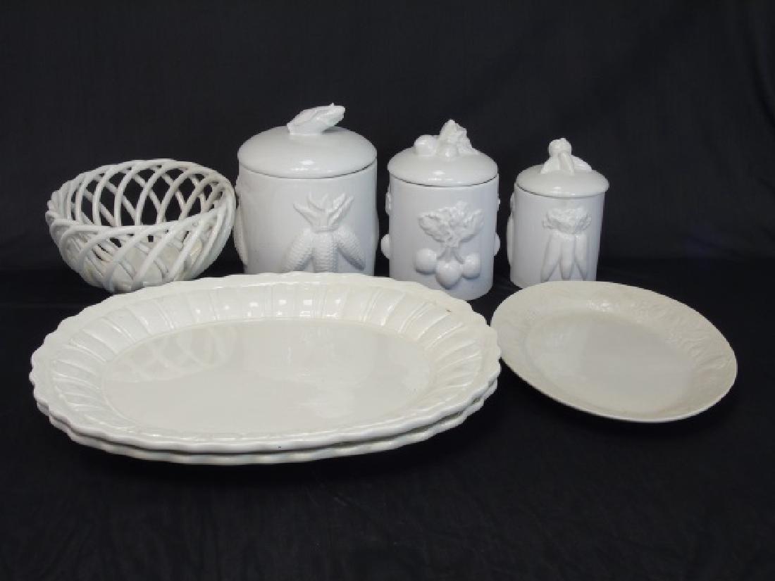 Group Blanc de Chine White Kitchen Serving Items