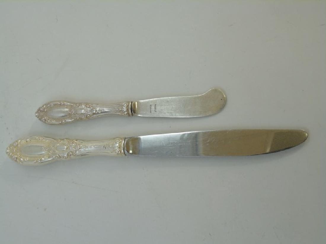 Towle Sterling Silver Flatware Service for 8 - 2
