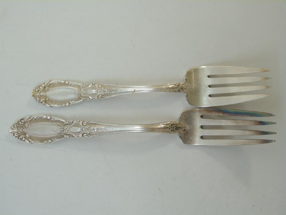 Towle Sterling Silver Flatware Service for 8 - 4