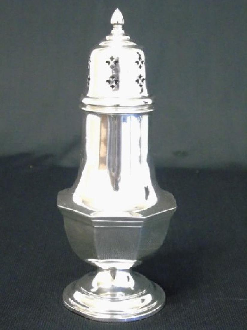 Sterling Silver Large Reed & Barton Sugar Caster - 6