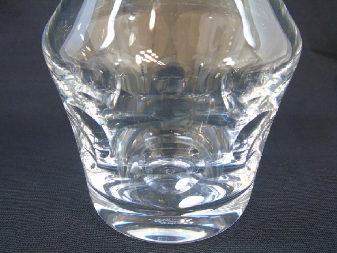 St. Louis Signed French Crystal Decanter Bottle - 4