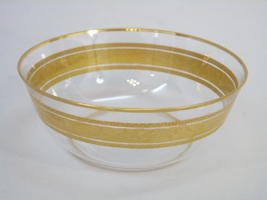 Set of 14 Gilt Decorated Baccarat Bowls & Plates - 2